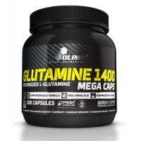 Glutamine 1400 mg - 300 mega Kapseln