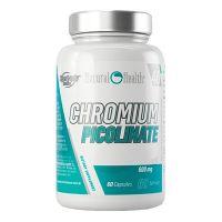 Chromium picolinate 600mg - 60 caps Natural Health - 1