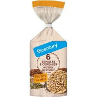 Corn pancake with seeds and cereals - 120g Bicentury - 1