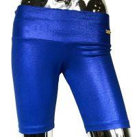 Sparkly short blue
