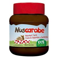 Cream of carob with hazelnuts nuscarobe - 400g