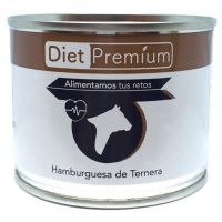 Canned beef burger - 100g Diet Premium - 1