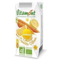 Orange juice-carrot-lemon vitamont - 6 x 20cl
