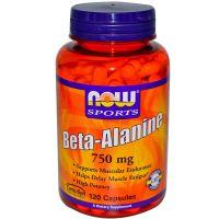 Beta Alanine 750mg - 120 caps