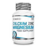 Calcium zinc magnesium - 100 tabs