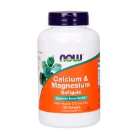 Calcium Magnesium + D - 120 softgels