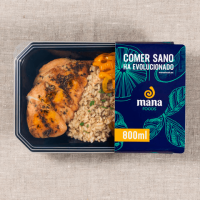Chicken with basmati rice and vegetable mix ManaFoods - 1