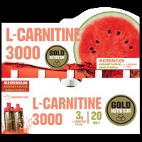 L-carnitine 3000 - 20 viales GoldNutrition - 2