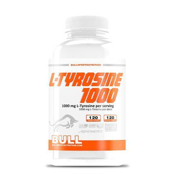 L-tyrosine 1000 - 120 capsules Bull Sport Nutrition - 1