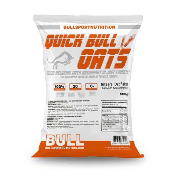 Quick bull oats - 1 kg Bull Sport Nutrition - 1