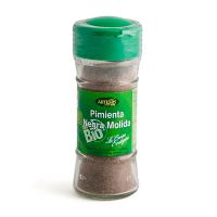Jar of ground black pepper eco - 45gr Artemis BIO - 1