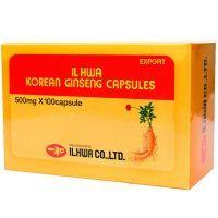 Korean ginseng il hwa - 100 capsules Tongil - 1