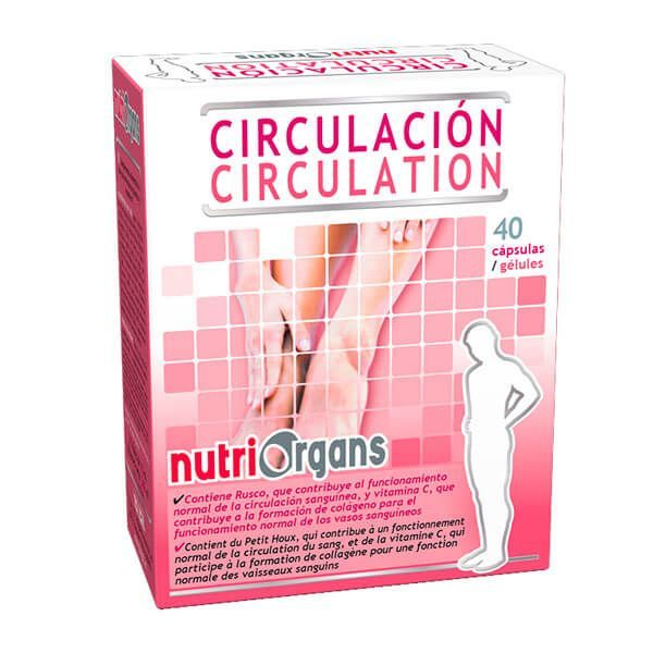 Nutriorgans circulation - 40 capsules Tongil - 1