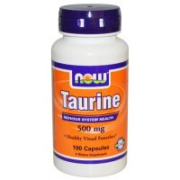 NOW Taurina 500 mg - 100 Kapseln