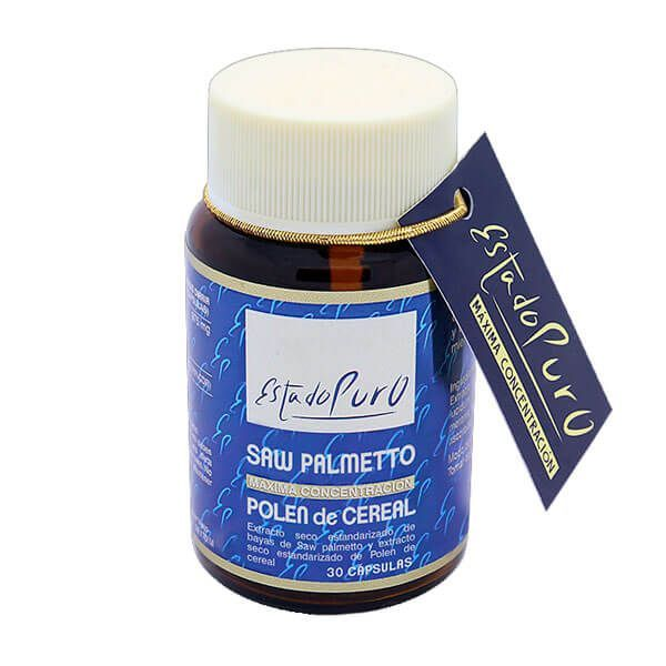 Pure state saw palmetto with cereal pollen - 30 capsules Tongil - 1