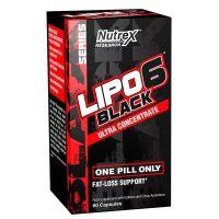 Lipo - 6 Black Ultra Konzentrat - 60 Kapseln Nutrex - 1