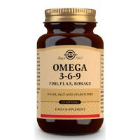 Omega 3-6-9 - 120 Softgels Solgar - 1