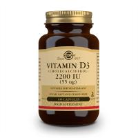 Vitamin d3 (cholecalciferol) 2200iu (55mcg) - 100 vegetable capsules Solgar - 1