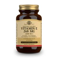 Vitamin E 400 IU - 100 Softgels Solgar - 1
