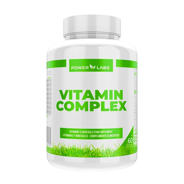 Vitamin complex - 60 capsules Power Labs - 1