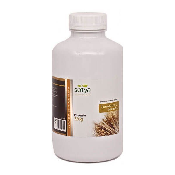 Yeast and germ 600mg - 550 tablets Sotya Health Supplements - 1