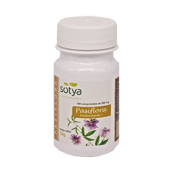 Passionflower - 100 tablets Sotya Health Supplements - 1