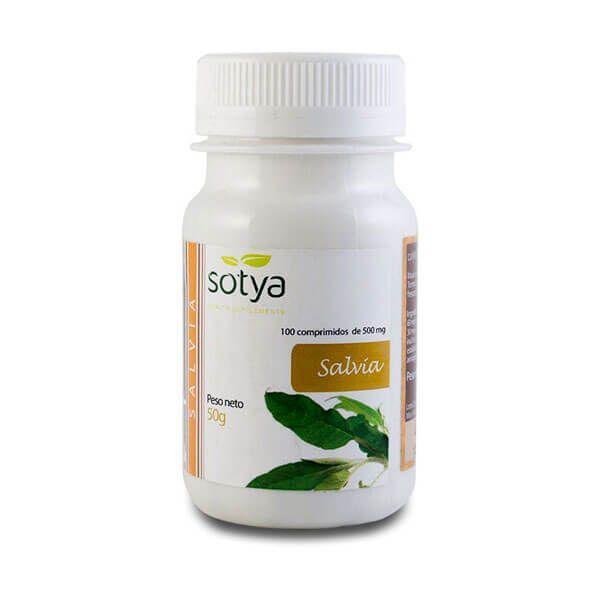 Sage 500mg - 100 tablets Sotya Health Supplements - 1