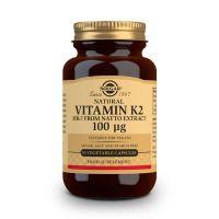 Vitamin k2 100mcg - 50 vegetable capsules Solgar - 1