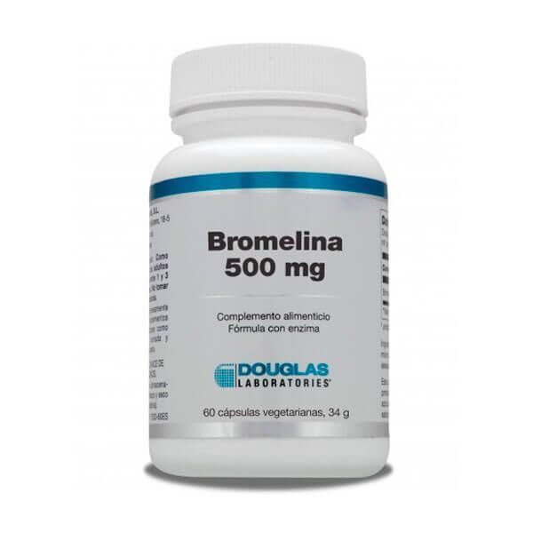 Bromelain 500mg - 60 capsules Douglas Laboratories - 1