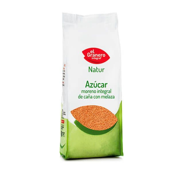 Brown whole cane sugar with molasses - 1kg