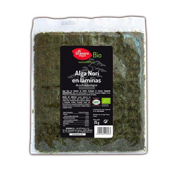 Nori seaweed in sheets - 25g