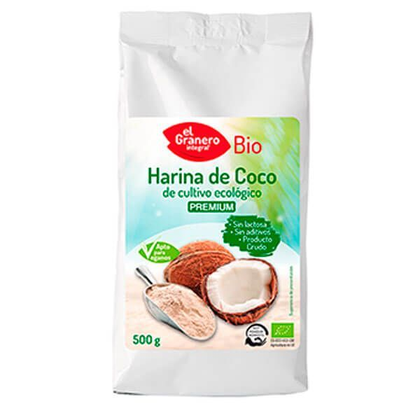 Organic coconut flour - 500g