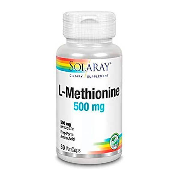 L-methionine 500mg - 30 capsules