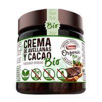 Hazelnut cream and organic cocoa - 200g