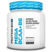 Mega bcaa + b6 - 220 tabs Protein Buzz - 1