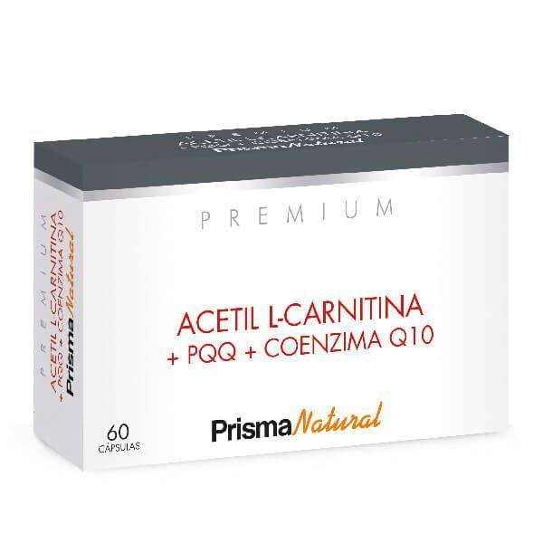 Acetyl l-carnitine + pqq + coenzyme q10 - 60 capsules