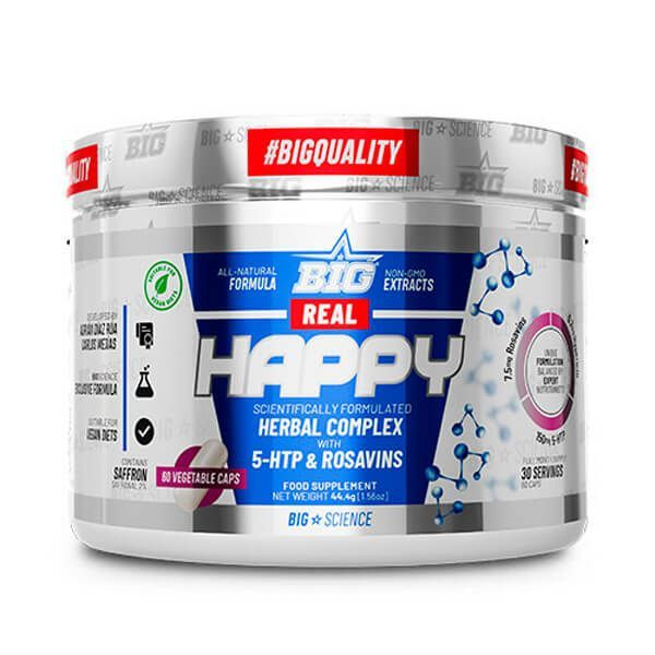 Real happy - 60 capsules