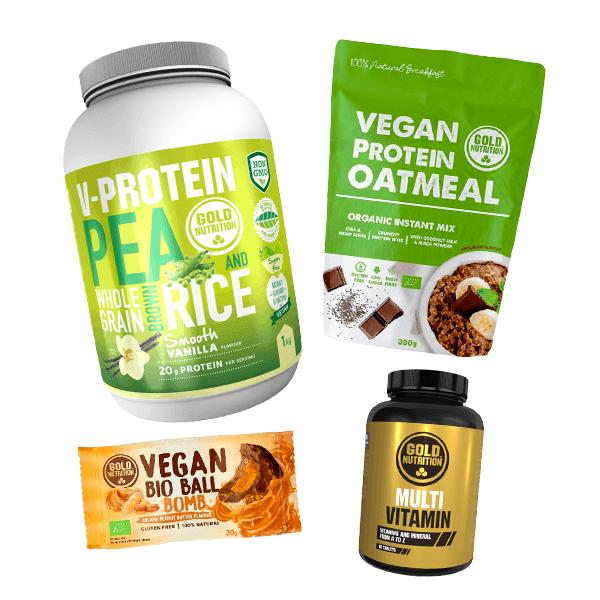 Vegan pack by goldnutrition