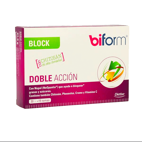 Double action block - 30 capsules