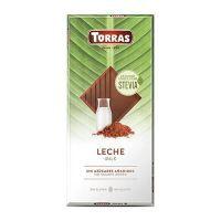 Stevia milk chocolate tablet - 100g
