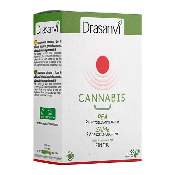 Cannabis d red - 36 capsules