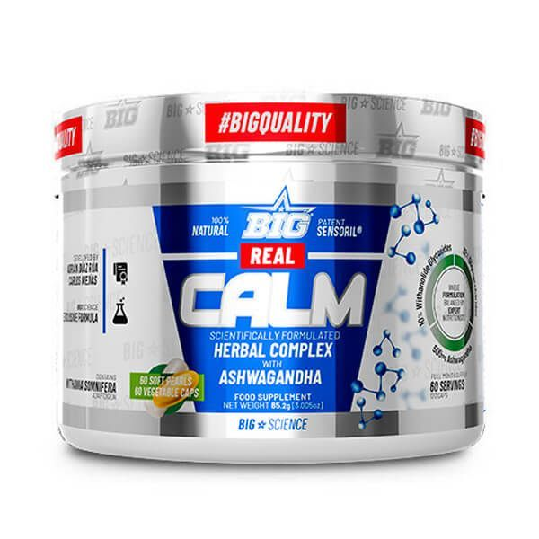 Real calm - 60 sofgels + 60 vegetable capsules