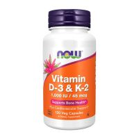 Vitamin d-3 & k-2 - 120 veg capsules