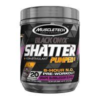 Black onyx shatter pumped 8 - 160g