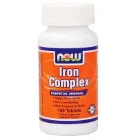 NOW Iron Complex -100 Tablets